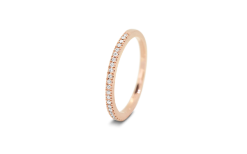 42066 Bague Or Rose