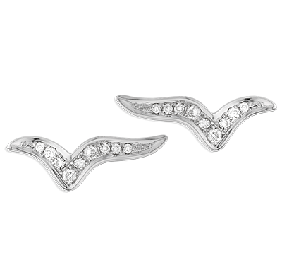 Boucles d'oreilles Bird - 42346 - Bijoux Bonnet