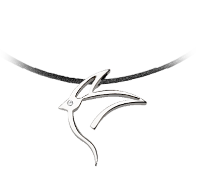 43236 - Collier Bird - Argent 925 - Bijoux Bonnet