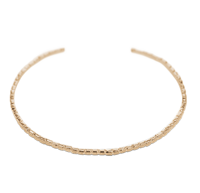Bracelet esclave or rose - 44274 - Bijoux Bonnet
